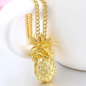 Jewelry - pineapple necklace tropical adorable hawaiian